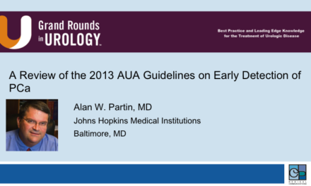 A Review of the 2013 AUA Guidelines on Early Detection of PCa