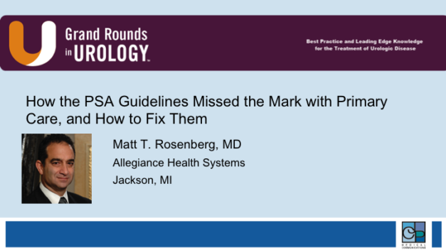 How the PSA Guidelines Missed the Mark with Primary Care, and How to Fix Them