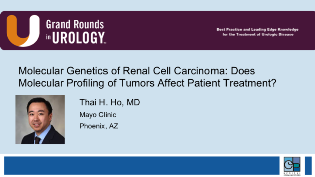 Molecular Genetics of Renal Cell Carcinoma: Does Molecular Profiling of Tumors Affect Patient Treatment?