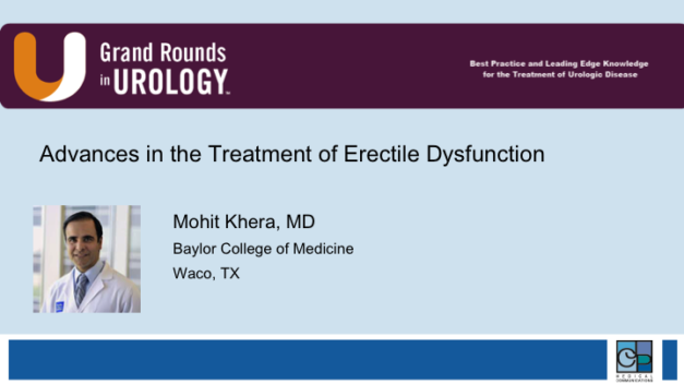 Advances in the Treatment of Erectile Dysfunction