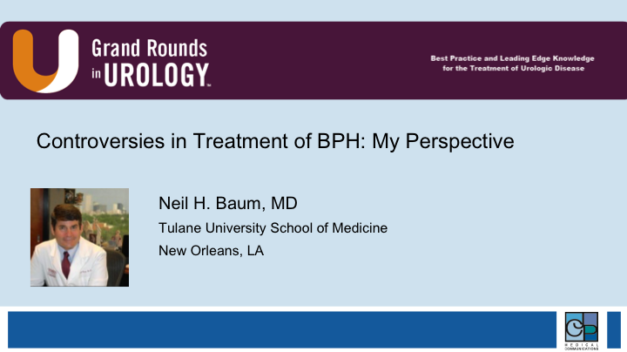 Controversies in Treatment of BPH: My Perspective