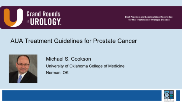 AUA Treatment Guidelines for Prostate Cancer