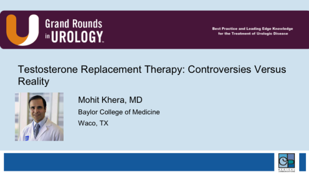 Testosterone Replacement Therapy: Controversies Versus Reality