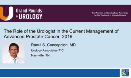The Role of the Urologist in the Current Management of Advanced Prostate Cancer: 2016