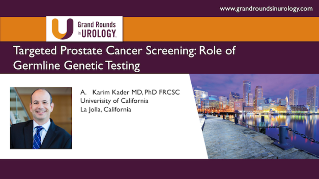 Targeted Prostate Cancer Screening: Role of Germline Genetic Testing