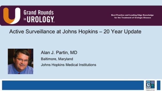 Active Surveillance at Johns Hopkins – 20 Year Update
