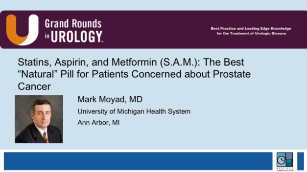 "Statins, Aspirin, and Metformin (S.A.M.): The Best ""Natural"" Pill for Patients Concerned about Prostate Cancer"