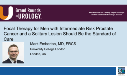 Focal Therapy for Men with Intermediate Risk Prostate Cancer and a Solitary Lesion Should Be the Standard of Care