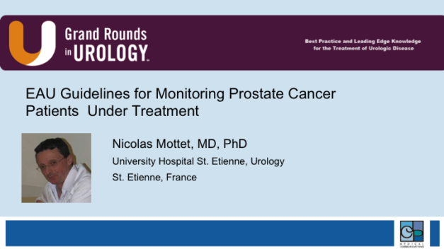 EAU Guidelines for Monitoring Prostate Cancer Patients  Under Treatment