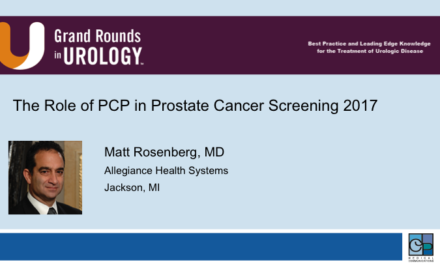 The Role of PCP in Prostate Cancer Screening 2017