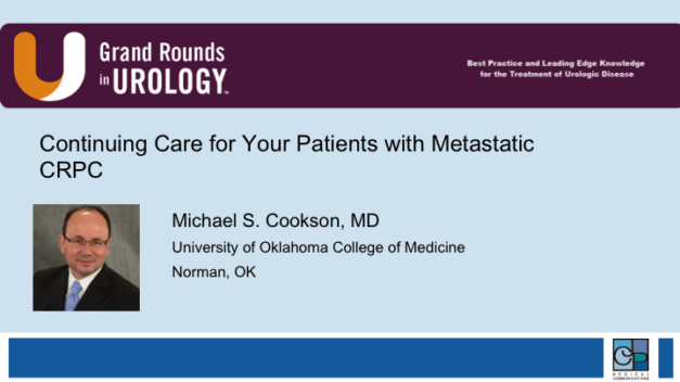 Continuing Care for Your Patients with Metastatic CRPC