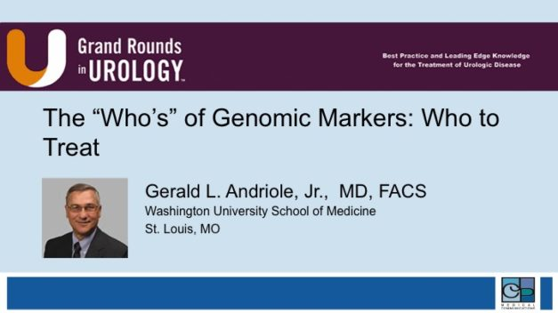 "The ""Who's"" of Genomic Markers: Who to Treat"