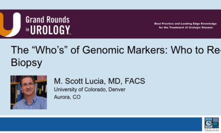 "The ""Who's"" of Genomic Markers: Who to Re-Biopsy"