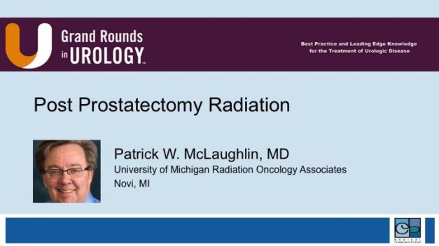 Post Prostatectomy Radiation