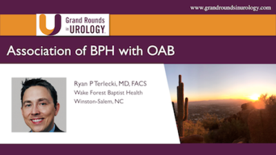 Association of BPH with OAB: The Plumbing or the Pump?