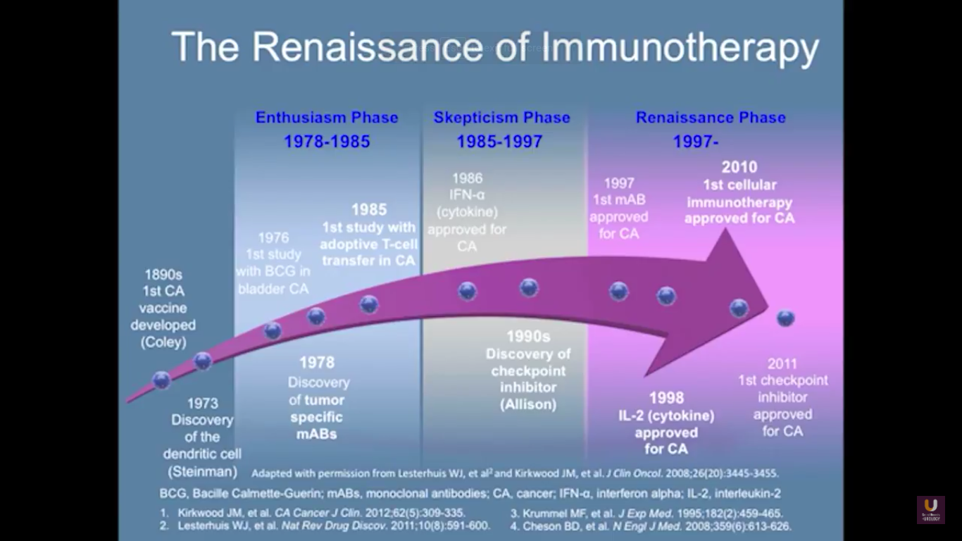 Renaissance of Immunotherapy