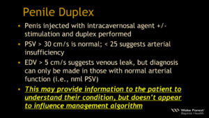 Penile Duplex