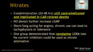 ED Nitrates