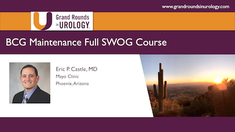 BCG Maintenance – Full SWOG Course – Pro Argument