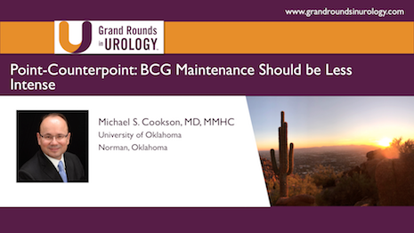BCG Failure: BCG Maintenance Should be Less Intense