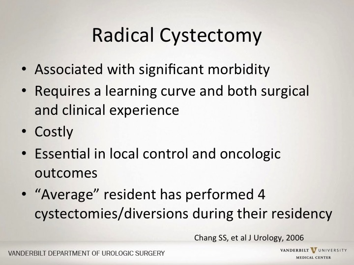 Sam S  Chang | Robotic Cystectomy Versus Open Cystectomy