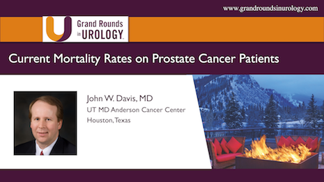 Current Mortality Rates on Prostate Cancer Patients