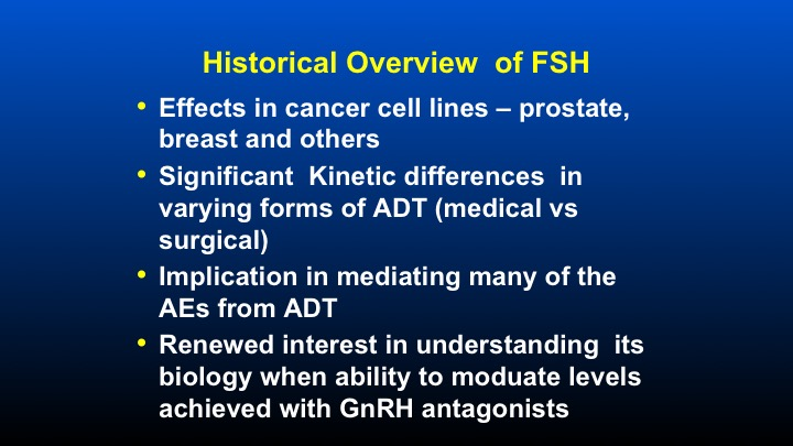 Point Counterpoint | The Role of FSH in Prostate Cancer