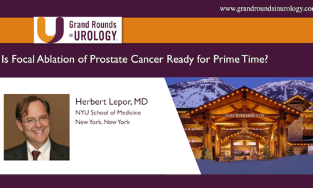 Is Focal Ablation of Prostate Cancer Ready for Prime Time?
