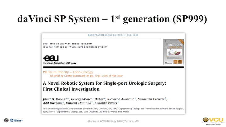 Robotic Surgical Systems in Urology: What's in the Pipeline?
