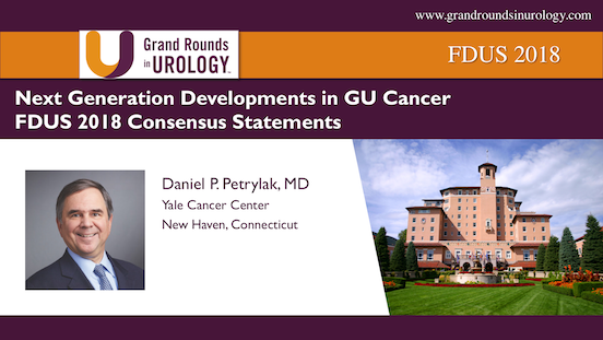 FDUS 2018-Next Generation Developments in GU Cancer