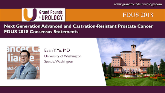 FDUS 2018 – Next Generation Advanced and Castration-Resistant Prostate Cancer