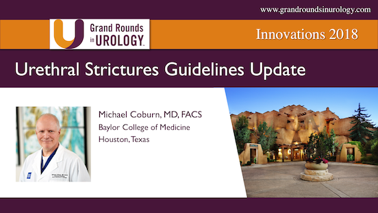 Urethral Strictures Guidelines Update