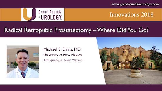 Radical Retropubic Prostatectomy: Where Did You Go?