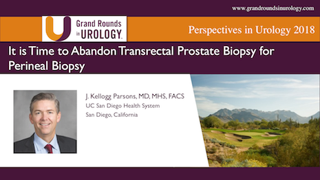 It is Time to Abandon Transrectal Prostate Biopsy for Perineal Biopsy