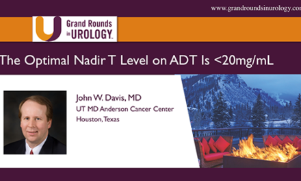 Point Counterpoint: The Optimal Nadir T Level on ADT Is <20mg/mL