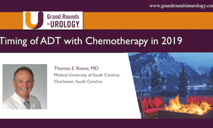Timing of ADT with Chemotherapy in 2019