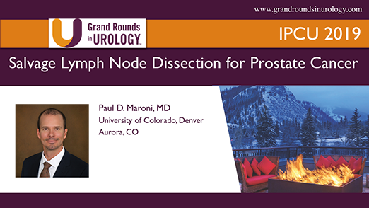 Salvage Lymph Node Dissection for Prostate Cancer