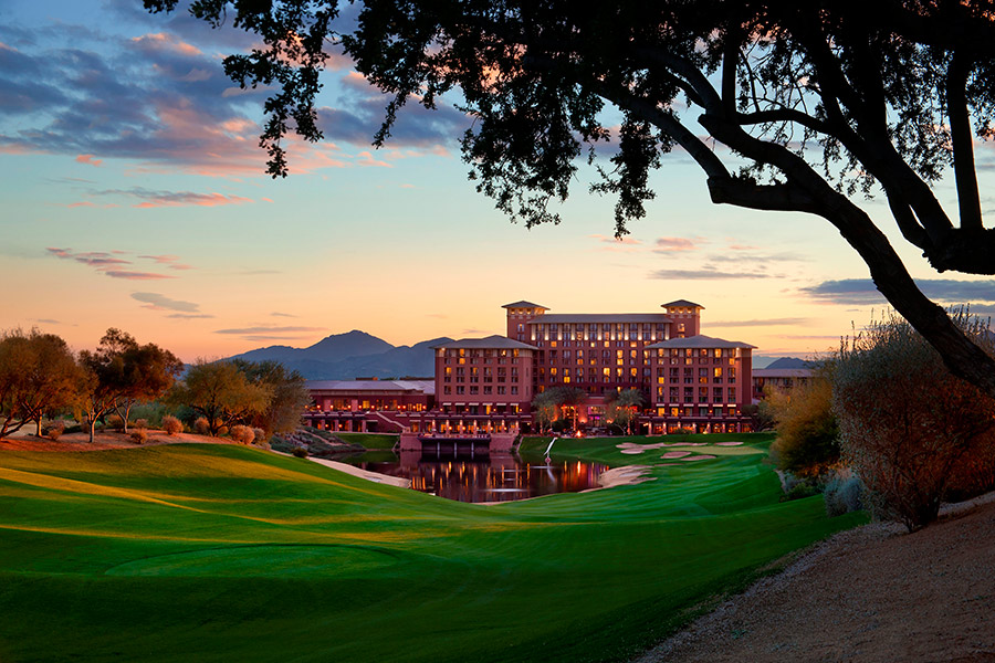 The-Westin-Kierland-Resort-Fairway-Sunset