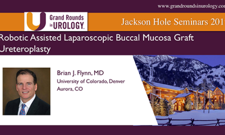 Robotic Assisted Laparoscopic Buccal Mucosa Graft Ureteroplasty