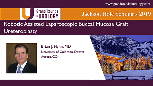 Robotic Assisted Laparoscopic Buccal Mucosa Graft Ureteroplasty