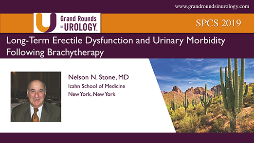 Long-Term Erectile Dysfunction and Urinary Morbidity Following Brachytherapy