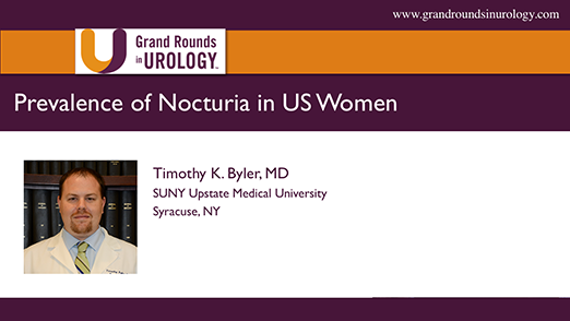 Prevalence of Nocturia in US Women