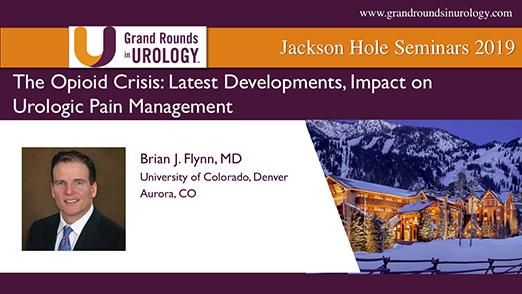 The Opioid Crisis: Latest Developments, Impact on Urologic Pain Management
