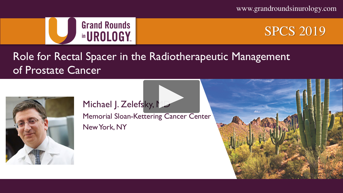 Role for Rectal Spacer in the Radiotherapeutic Management of PCa