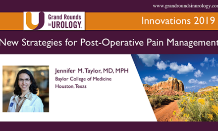 New Strategies for Post-Operative Pain Management