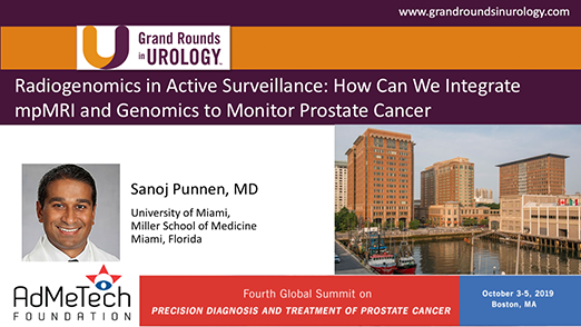 Radiogenomics in Active Surveillance: How Can We Integrate mpMRI and Genomics to Monitor Prostate Cancer