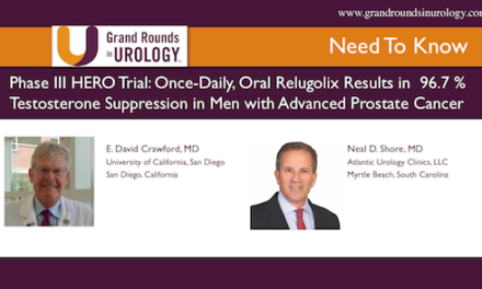 Phase III HERO Trial: Once-Daily, Oral Relugolix Results in 96.7% Testosterone Suppression in Men with Advanced Prostate Cancer