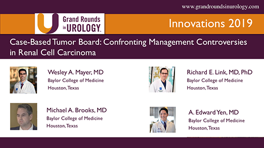 Case-Based Tumor Board: Confronting Management Controversies in Renal Cell Carcinoma