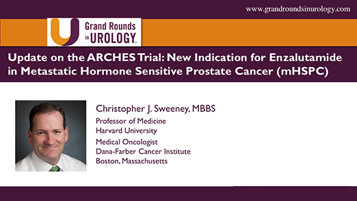 Update on the ARCHES Trial: New Indication for Enzalutamide in Metastatic Hormone Sensitive Prostate Cancer (mHSPC)