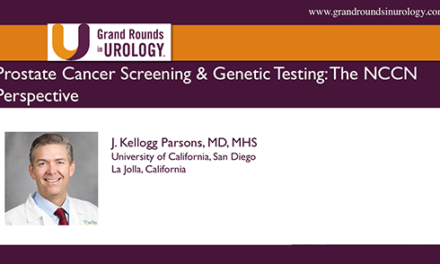 Prostate Cancer Screening & Genetic Testing: The NCCN Perspective